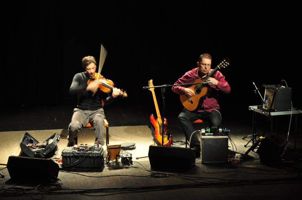 Spontaneous Chamber Music: Marcin Olak & Patryk Zakrocki