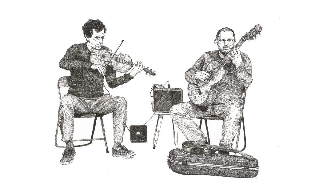Spontaneous Chamber Music. Patryk Zakrocki i Marcin Olak. (c) Basia Żach